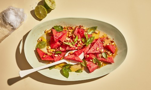 Watermelon Salad Is the Way to Make All Watermelon Taste Amazing, Even the Meh Stuff