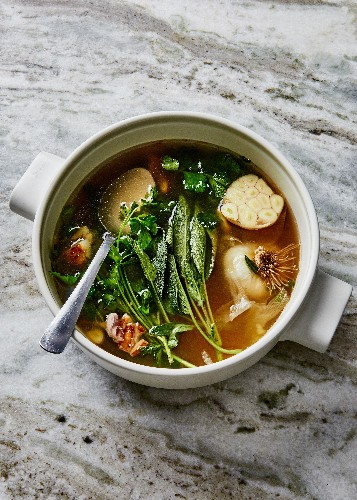The Garlic Broth Recipe That Brought Me Back to Health