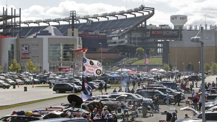 Patriots offering free parking for 2020 season