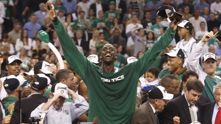 13 years later, Paul Pierce and Kendrick Perkins recall having different reactions to the Kevin Garnett trade
