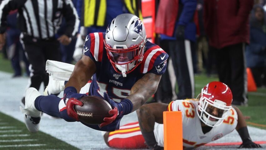 N'Keal Harry might be the biggest bust at receiver in Patriots history