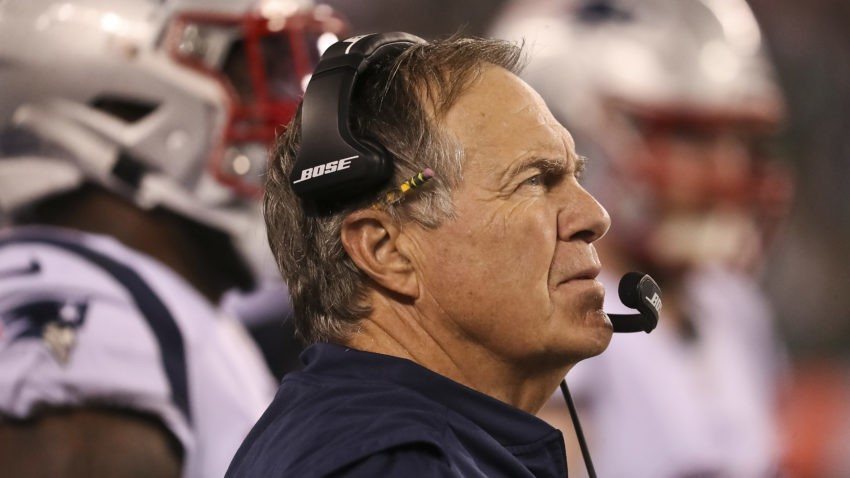 Bill Belichick used an NFL rules 'loophole' against the Jets. Then his reaction went viral.