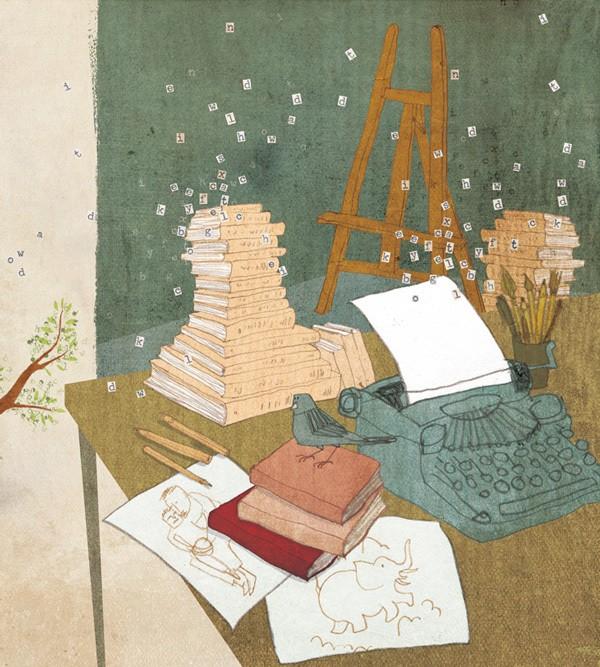 Creative Writing - Magazine cover