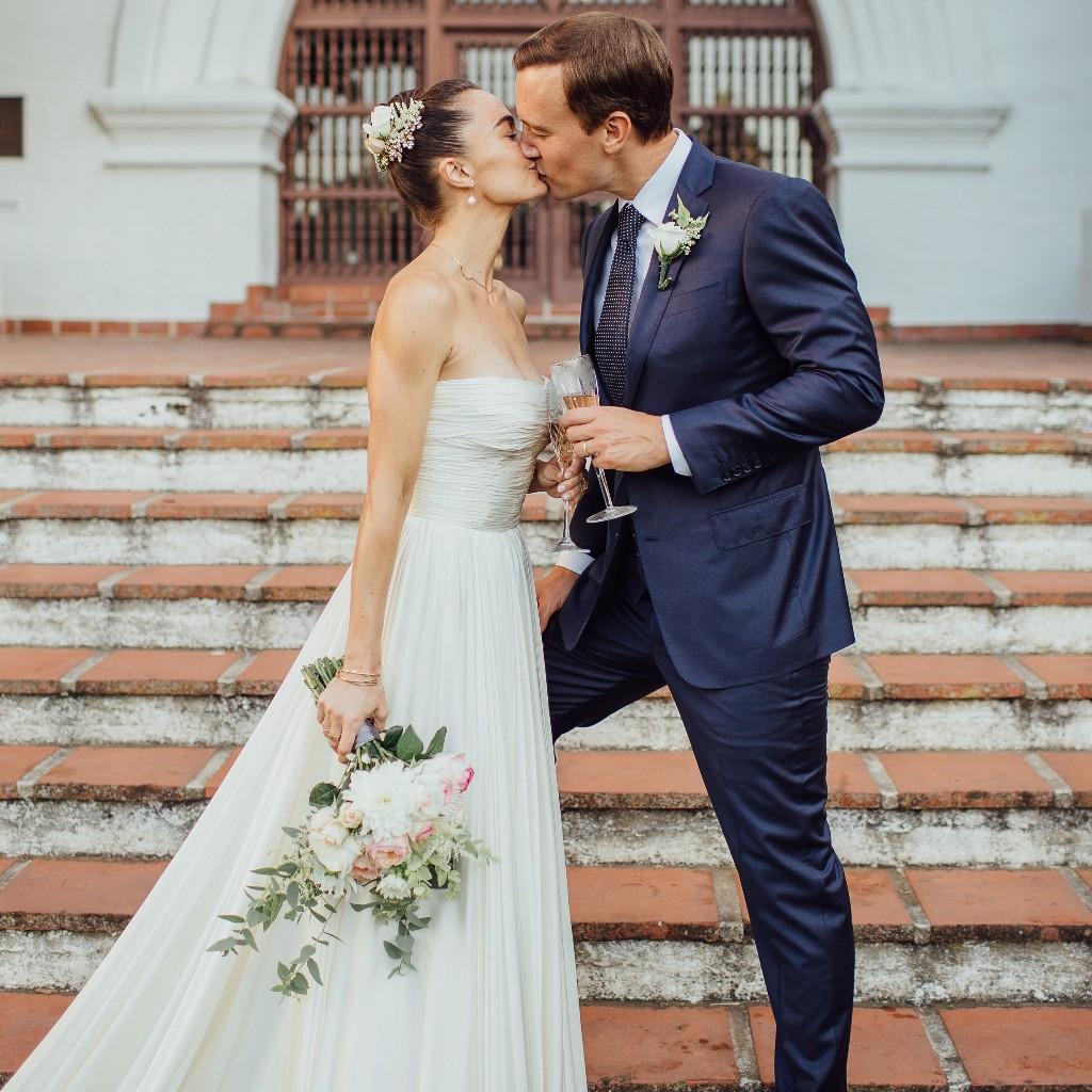 Megan Roup and Morgan Humphrey's Stunningly Simple Micro Wedding in Santa Barbara