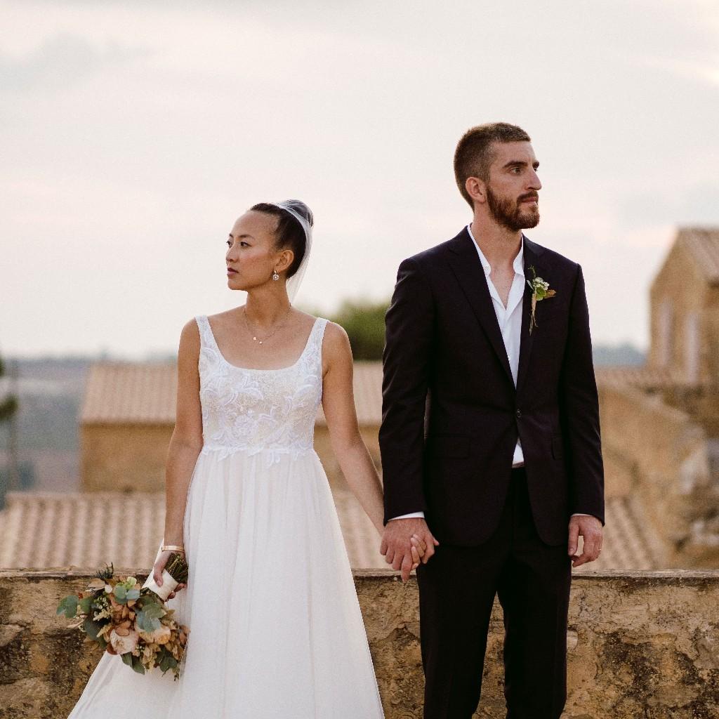 One Couple's Joyful Wedding Celebration in the Stunning Sicilian Countryside