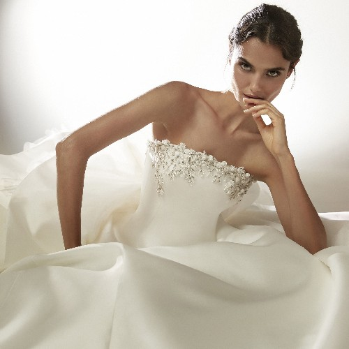 Exclusive First Look at Atelier Pronovias's Cruise 2021 Bridal Collection