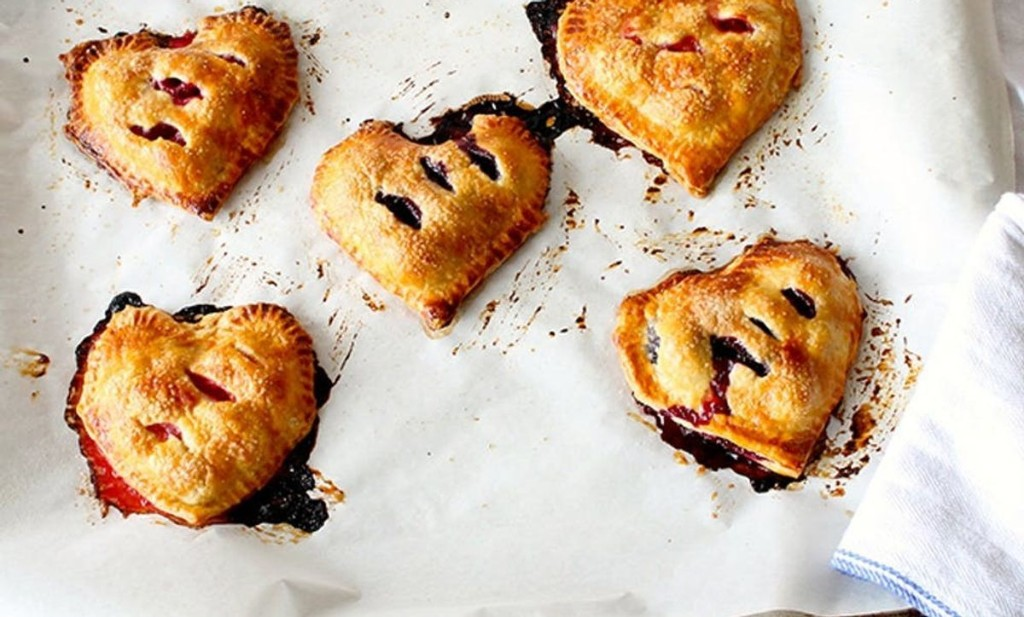 Put Heart-Shaped Hand Pies On the Menu This V-Day