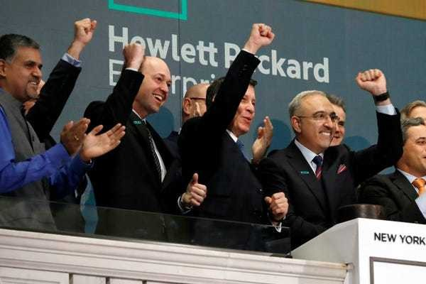 Hewlett Packard Enterprise Q1 FY19 earnings - Business Insider