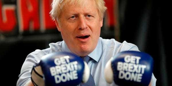 Study finds broadcasters helped Boris Johnson frame election on Brexit - Business Insider