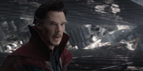 Benedict Cumberbatch dressed up as Doctor Strange in public to see what would happen