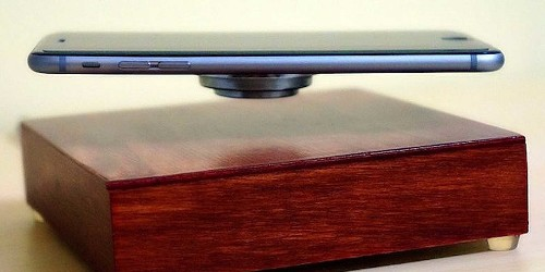 This insane levitating charger makes your phone float and spin in the air while it tops up your battery