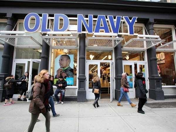 Old Navy splits off from Gap