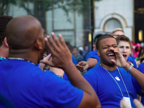 Apple has a weird name for what happens when employees finish their training