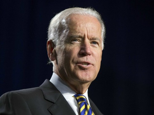 Speaking At Women's Event, Joe Biden Praises Senator Who Was Forced Out Over Sexual Harassment