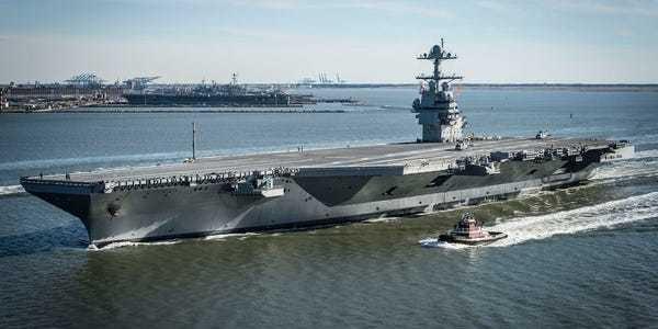 Navy Advanced Arresting Gear for new carriers survives demanding test - Business Insider