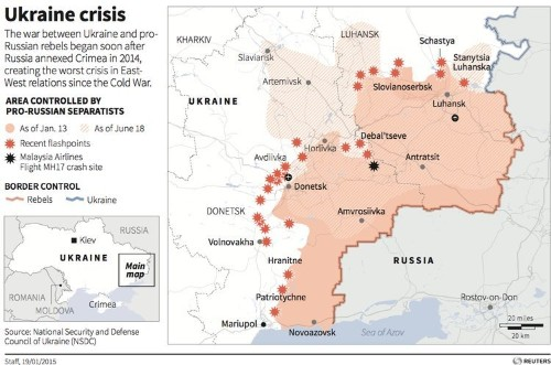 More Russian Soldiers Enter Ukraine As Separatists Extend Land Grab