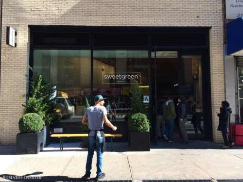Sweetgreen is now valued at more than $1 billion