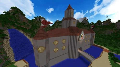 This recreation of 'Super Mario 64' in 'Minecraft' will blow your mind