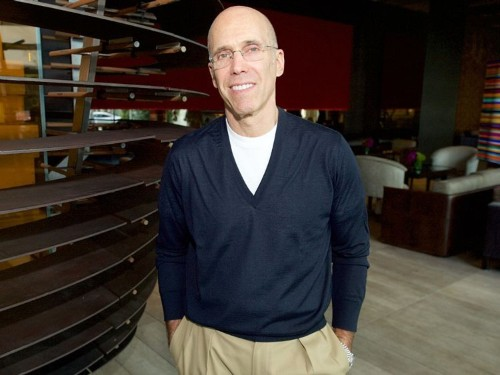 Jeffrey Katzenberg's Quibi is courting big brands like P&G and Anheuser-Busch, seeking up-front ad deals for the streaming platform
