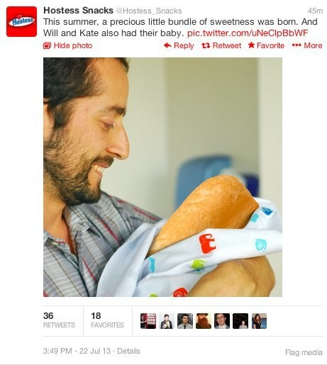 Brands Are Already Tweeting Corny Stuff After The Birth Of The Royal Baby