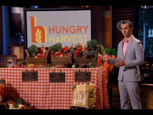 A 23-year-old entrepreneur on 'Shark Tank' just convinced Robert Herjavec to invest $100,000 in gross-looking fruits and veggies