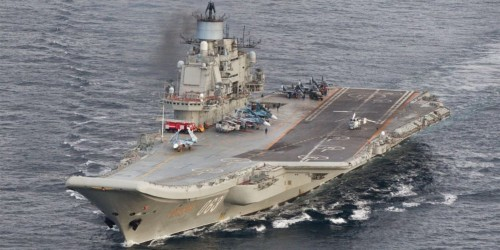 Russia is talking about scrapping its only aircraft carrier, putting the troubled ship out of its misery
