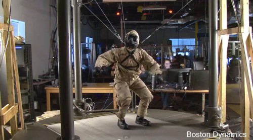 This Video Of A Robot, Hooded And Chained By The Neck As Humans Test It, Will Tug At Your Soul