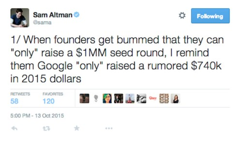 Startups are complaining that they're 'only' able to raise $1 million seed rounds