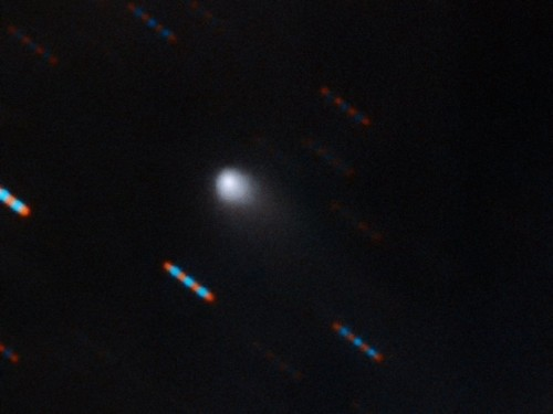 Image reveals second interstellar object's comet-like tail