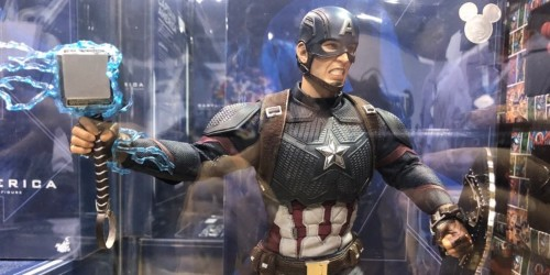 D23 Expo is selling an 'Avengers: Endgame' Captain America with Thor's hammer and shield
