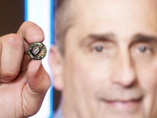 Intel teams up with 'Shark Tank' producer for a new TV show promoting its button-sized computer