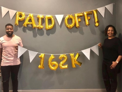 Here's how a young couple paid off $162,000 of debt in 3 years — and paid for their wedding at the same time