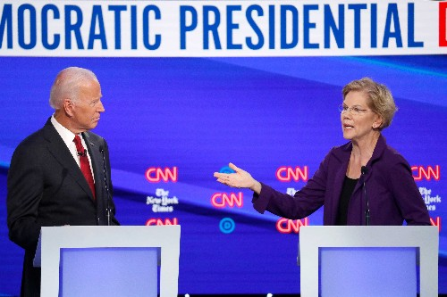 Warren and Biden slam Facebook, say its free speech policy allows lies - Business Insider