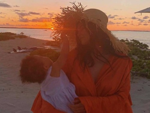 Kylie Jenner is treating baby Stormi to a lavish beach vacation to celebrate her 1st birthday
