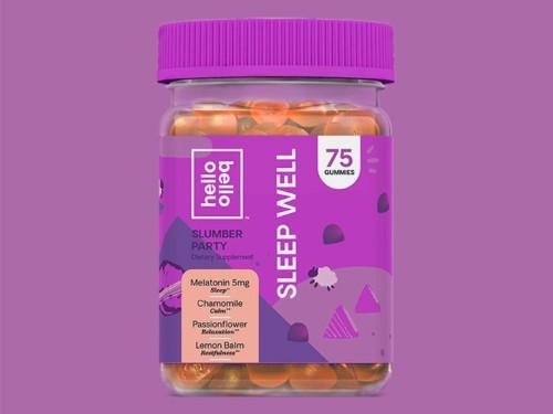 Hello Bello Sleep Well melatonin gummies review: help me fall asleep