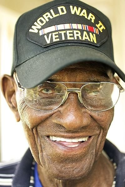 America's Oldest Veteran Drinks Whiskey And Smokes Cigars Every Day