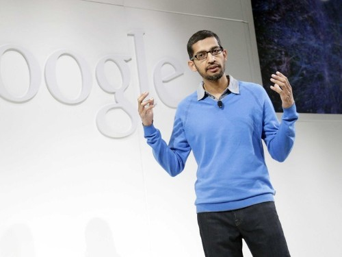 The fact that no one knows much about Google's new CEO may be one reason for his success