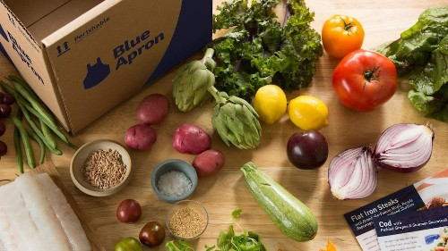 Blue Apron slides after Morgan Stanley slashes its price target by more than 70% (APRN)
