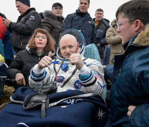 An astronaut just returned to Earth after a record-breaking trip — and scientists can't wait to see him