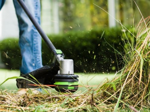 I tried this $229 cordless string trimmer, and now I'm done messing with gas-powered weed wackers