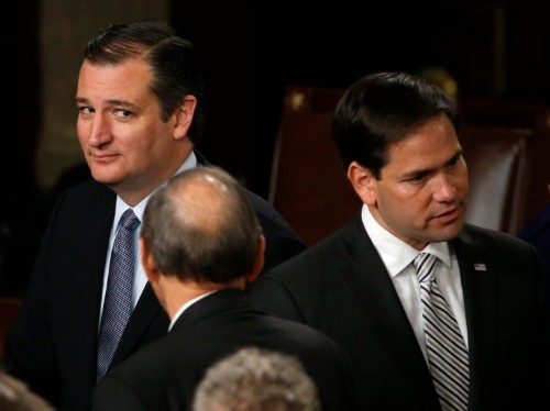 Marco Rubio is robbing Ted Cruz of his best weapon