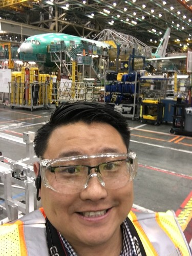 Take a look inside the Boeing factory where it builds its most iconic airliners
