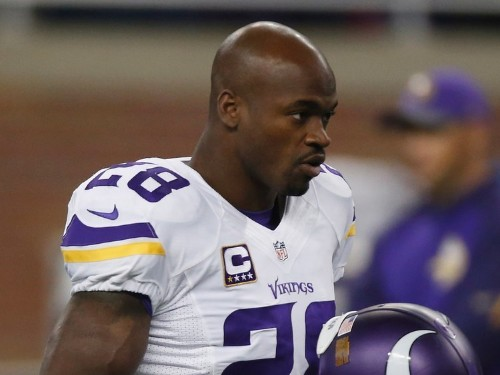 Adrian Peterson's mysterious 'illness' was reportedly the result of swallowing chewing tobacco on bumpy flight