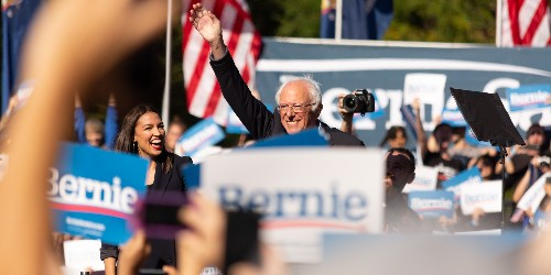 AOC joins Bernie Sanders for the 1st time on 2020 campaign trail - Business Insider