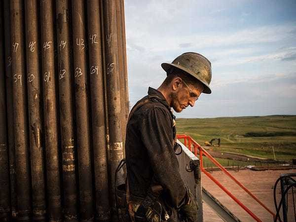 US companies will be forced to 'hit the breaks' if oil drops below $40 - Business Insider