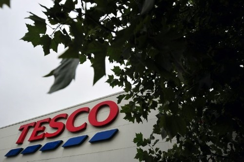 Tesco claims improvement despite sales drop