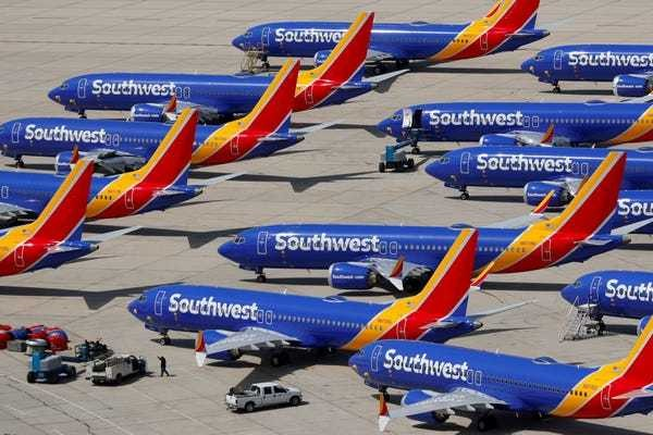 Southwest extends Boeing 737 MAX cancellations until early March - Business Insider