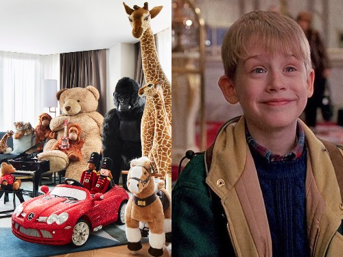 You can stay in a hotel filled with toys courtesy of FAO Schwarz - Business Insider