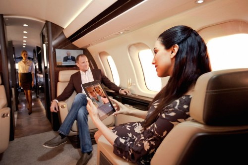 Check out Bombardier's next generation $73 million Global 7000 private jet