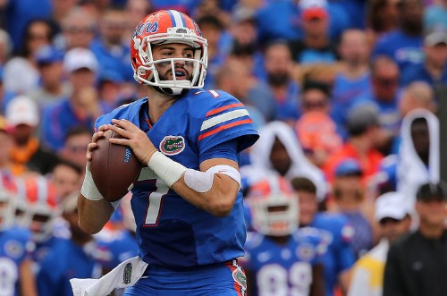 Florida quarterback who gained 43 pounds in one year is now suspended after positive test for performance-enhancing drugs